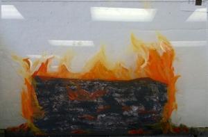 (2) 3-D Fire Middle