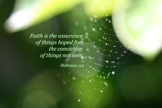 Hebrews 11 Verse 1