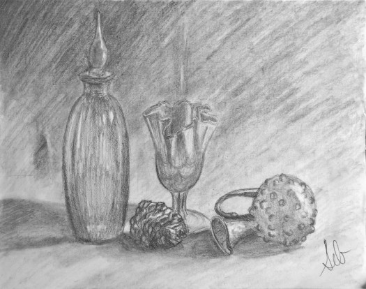 25b. Still Life Drawing