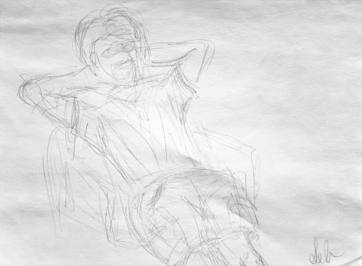 28. Gesture Drawing 1