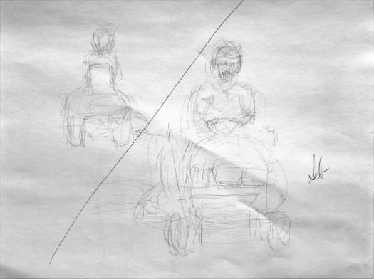 32. Gesture Drawing 5