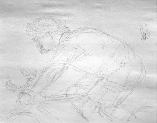 36. Gesture Drawing 9