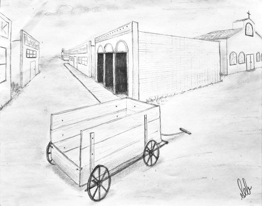 Perspective Drawing II Sarah Brown ARTS 311