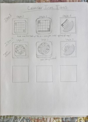 Exercise 2 Thumbnail Ideas for Calendar