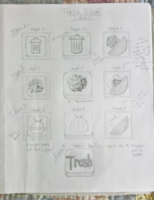 Exercise 2 Thumbnail Ideas for Trash